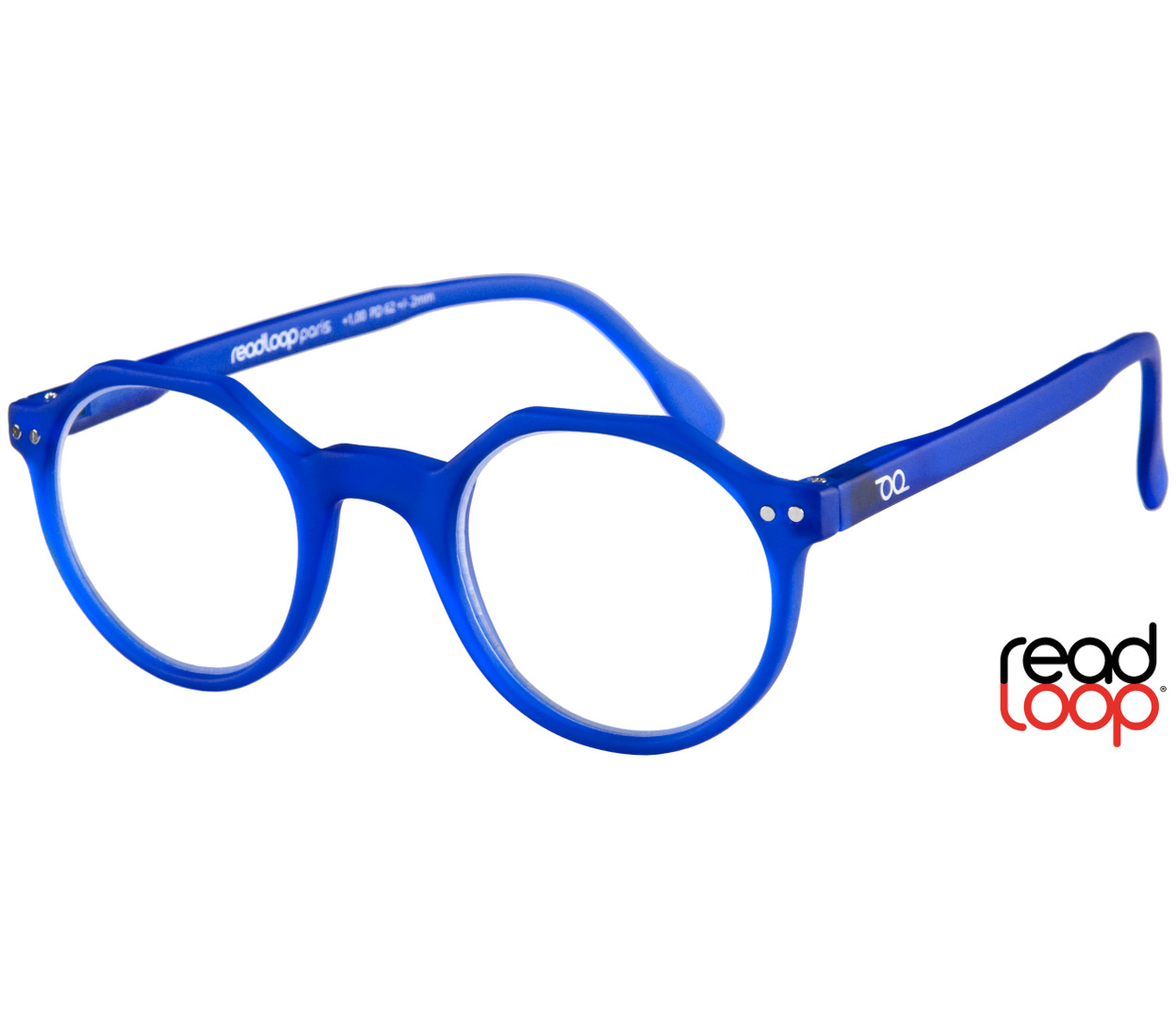 Hurricane (Blue) Retro Reading Glasses