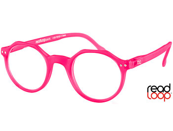 Hurricane (Pink) Retro Reading Glasses - Thumbnail Product Image