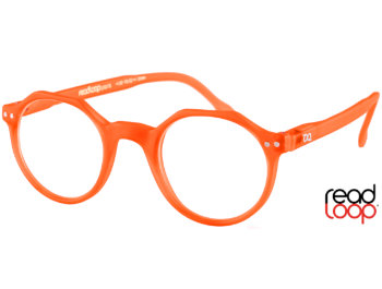 Hurricane (Orange) Retro Reading Glasses