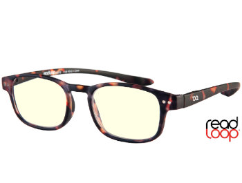 Click (Tortoiseshell) Computer Glasses Reading Glasses - Thumbnail Product Image