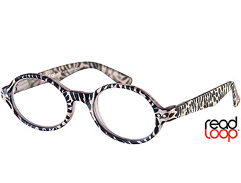 Wild (Zebra) Retro Reading Glasses - Thumbnail Product Image