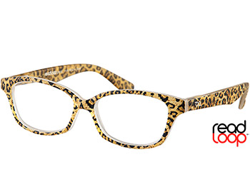 Diva (Leopard) Cat Eye Reading Glasses - Thumbnail Product Image