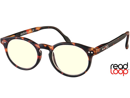 Logic (Tortoiseshell) Computer Glasses Reading Glasses - Thumbnail Product Image