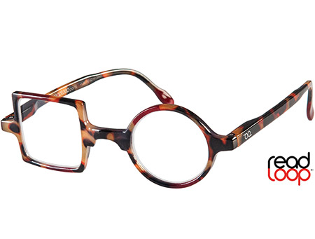 Patchwork (Tortoiseshell) Retro Reading Glasses - Thumbnail Product Image