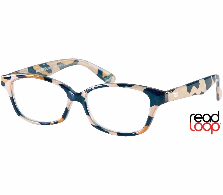 Main Image (Angle) - Diva (Multi-coloured) Cat Eye Reading Glasses