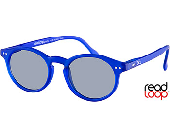 Bounce (Blue) Retro Sun Readers - Thumbnail Product Image