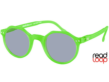 Oasis (Green) Retro Sun Readers - Thumbnail Product Image