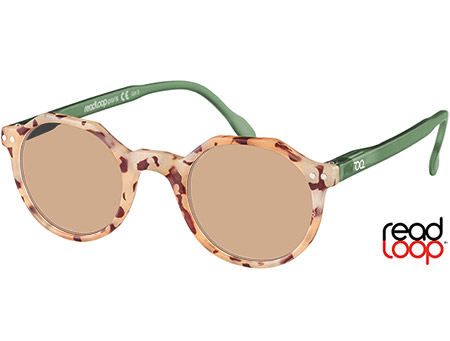 Oasis (Blond Tortoise) Retro Sun Readers - Thumbnail Product Image