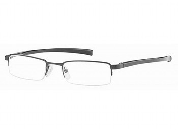 Detroit (Silver) Semi-rimless Reading Glasses