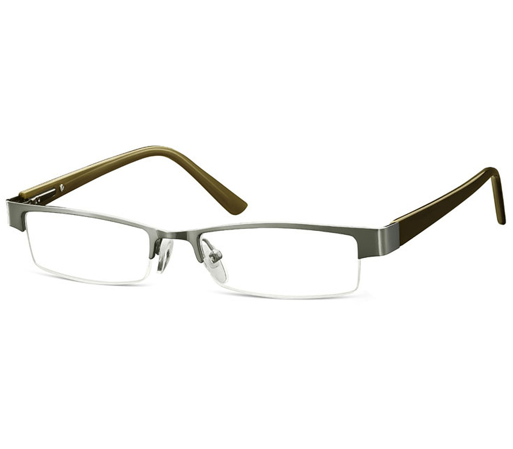 Mens Semi Rimless Reading Glasses Cinemas 93