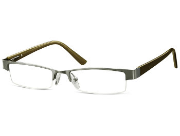 Winchester (Silver) Semi-rimless Reading Glasses