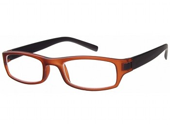 Lucca (Brown) Fashion Reading Glasses