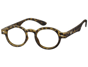 Carlton (Tortoiseshell) Retro Reading Glasses