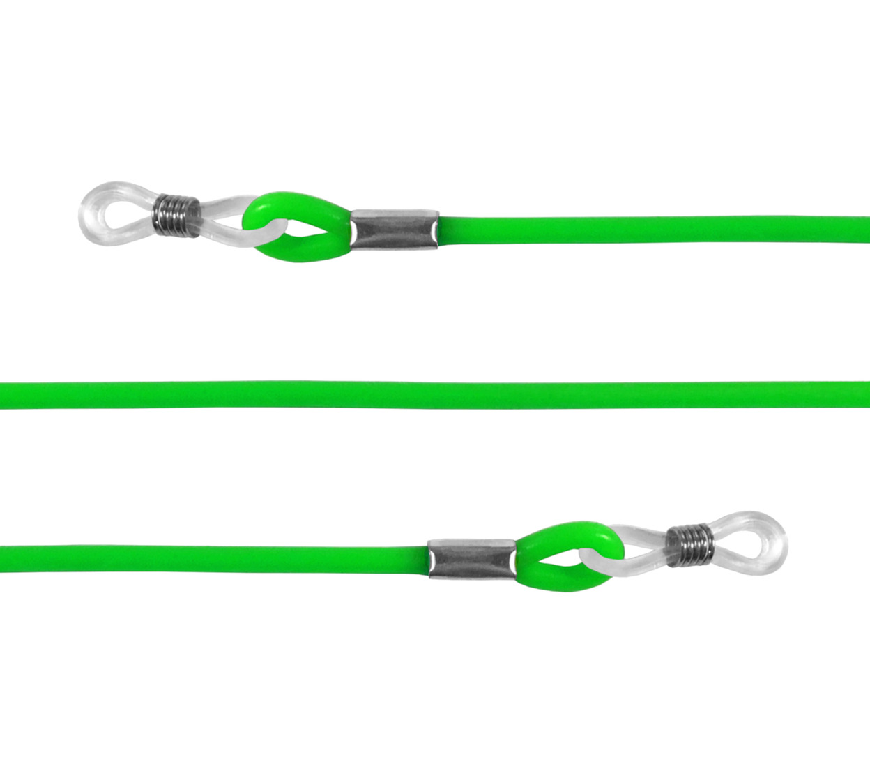 Main Image (Angle) - Loopy (Green) Glasses Cords Accessories