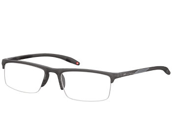 Orkney (Grey) Semi-rimless Reading Glasses