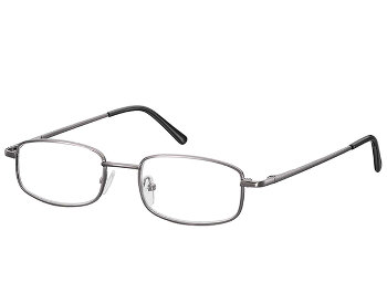 Manhattan (Gunmetal) Classic Reading Glasses