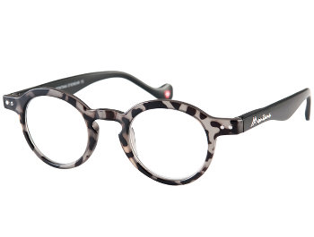 Camden (Grey) Retro Reading Glasses