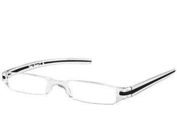 Soda (Black) Tube Reading Glasses