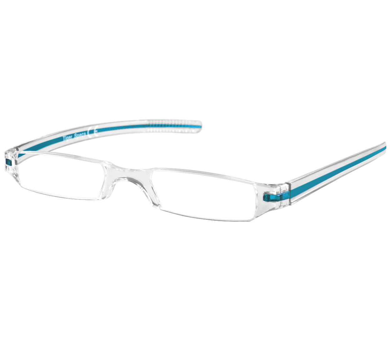 Soda (Blue) Tube Reading Glasses