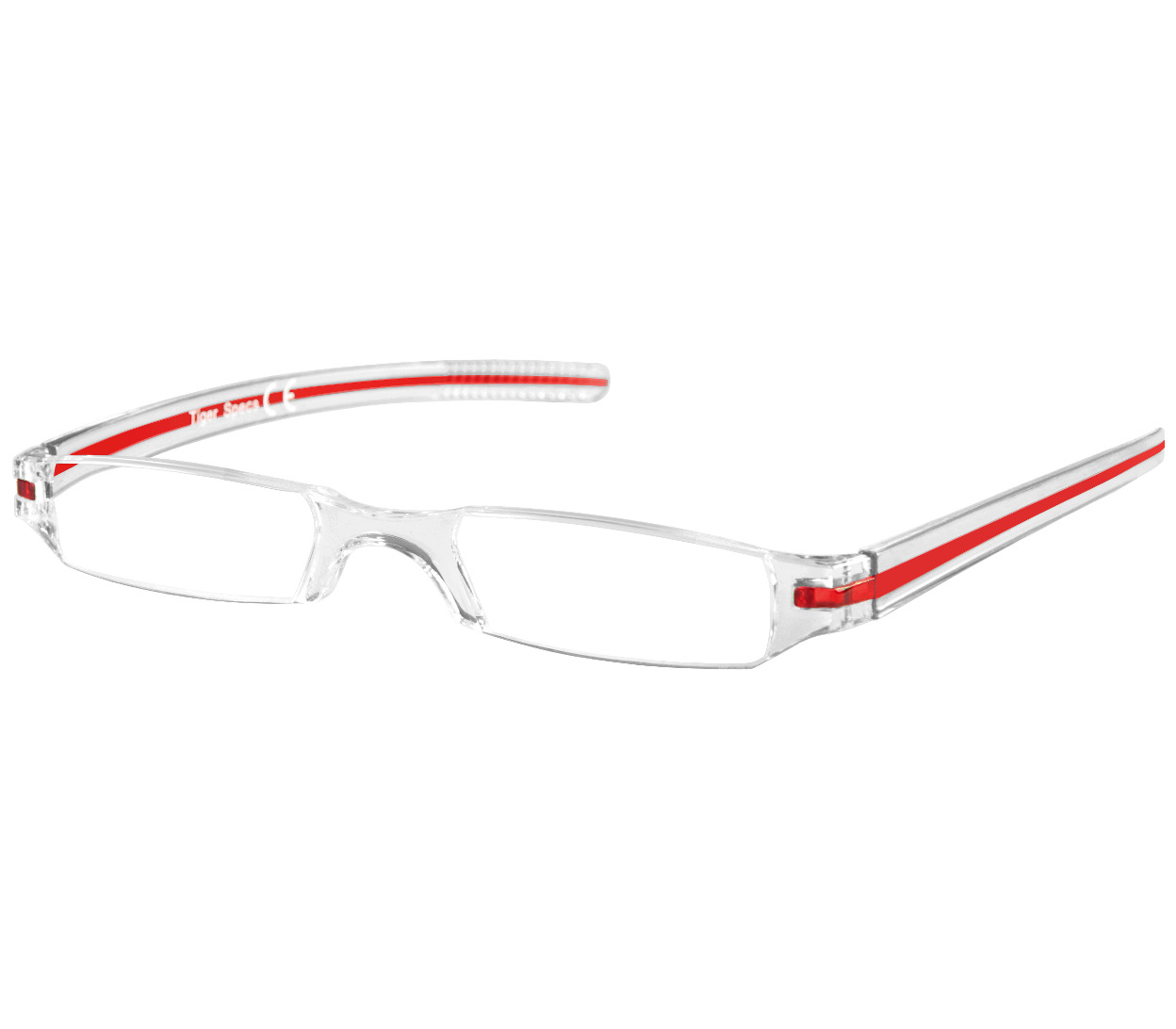 Main Image (Angle) - Soda (Red) Tube Reading Glasses