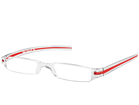 Soda (Red) Tube Reading Glasses - Thumbnail Product Image