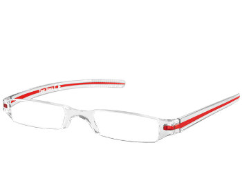 Soda (Red) Tube Reading Glasses