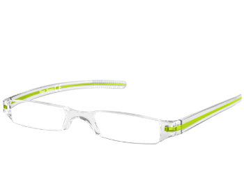 Soda (Green) Tube Reading Glasses - Thumbnail Product Image