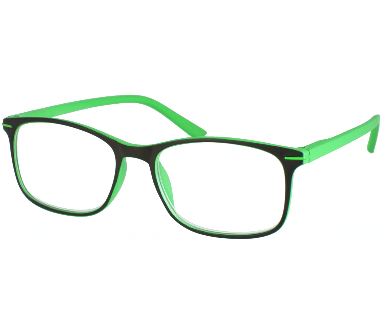 Main Image (Angle) - Jazz (Green) Classic Reading Glasses