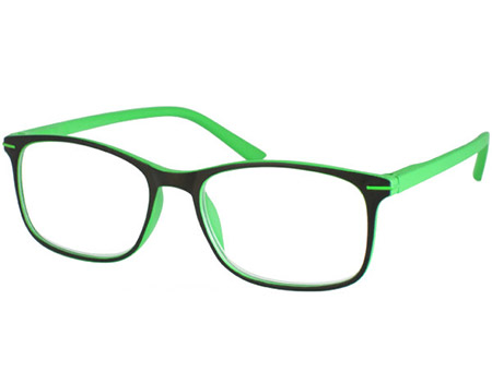 Jazz (Green) Classic Reading Glasses - Thumbnail Product Image