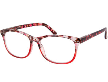 Aspen (Red) Fashion Reading Glasses - Thumbnail Product Image