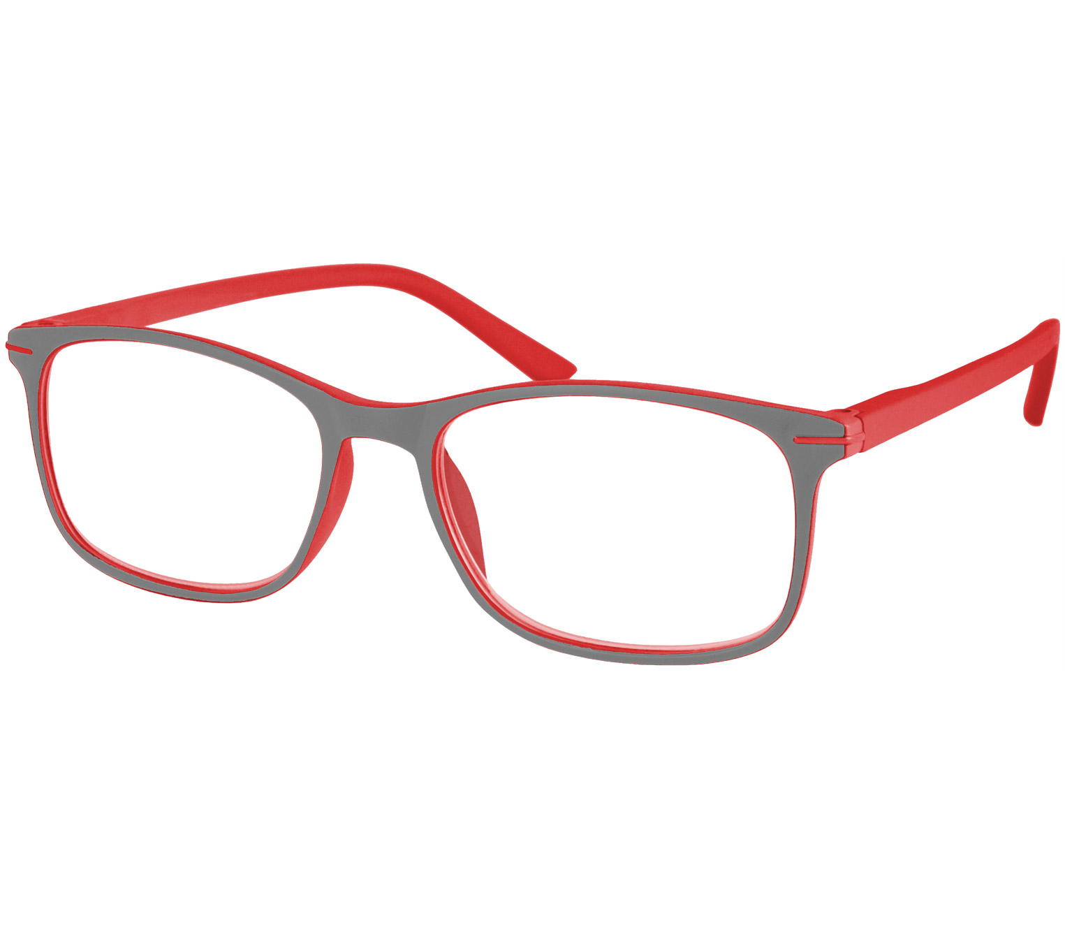 Main Image (Angle) - Jazz (Red) Classic Reading Glasses
