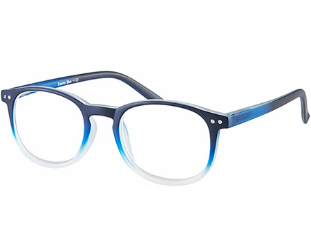 Cosmic (Blue) Retro Reading Glasses - Thumbnail Product Image