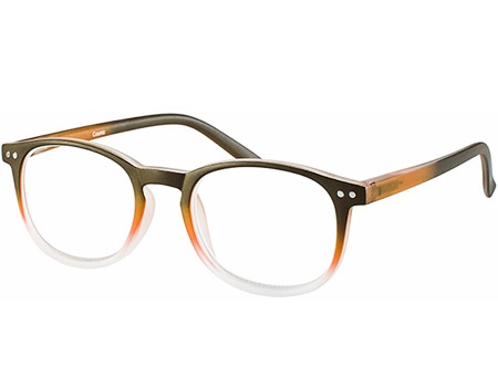 Cosmic (Orange) Retro Reading Glasses - Thumbnail Product Image