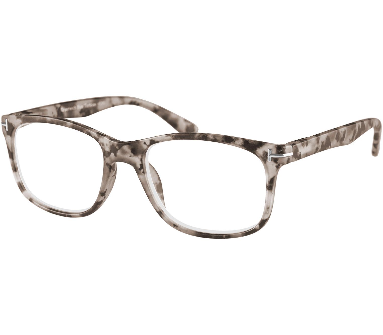 Main Image (Angle) - Greenwich (Grey Tortoise) Classic Reading Glasses