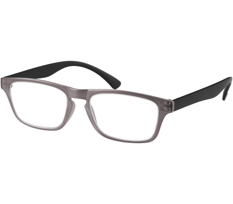 Main Image (Angle) - Metro (Grey) Classic Reading Glasses