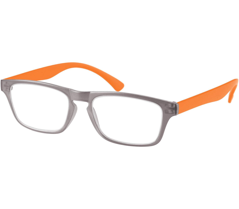 Main Image (Angle) - Metro (Orange) Classic Reading Glasses