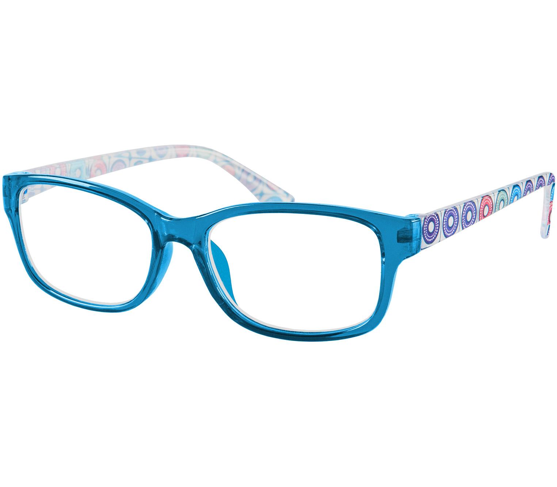 Main Image (Angle) - Scooter (Blue) Fashion Reading Glasses