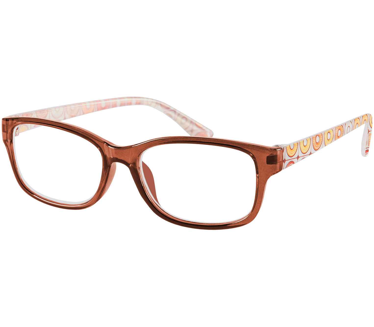 Main Image (Angle) - Scooter (Brown) Fashion Reading Glasses