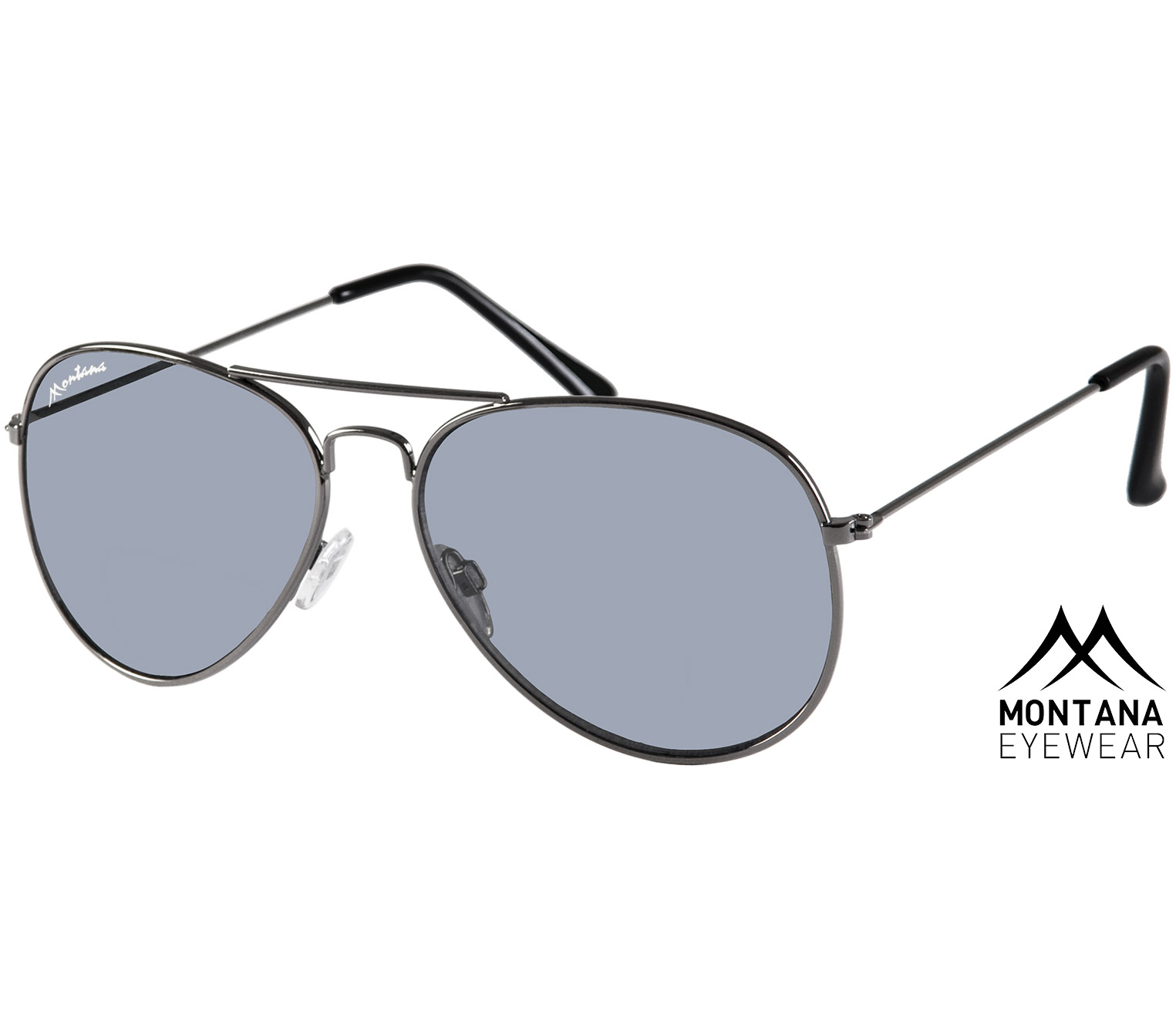 Fiji (Gunmetal) Aviator Sunglasses