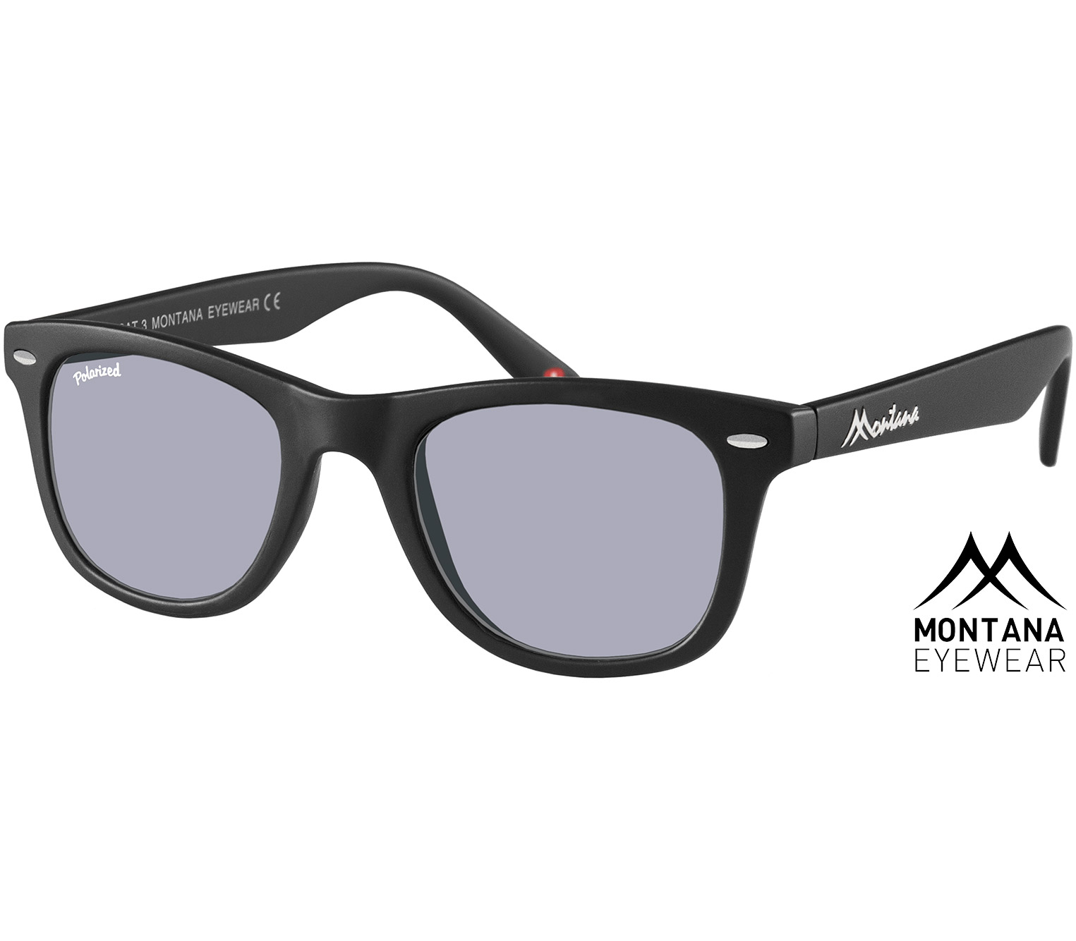 Main Image (Angle) - Valencia (Black) Sunglasses