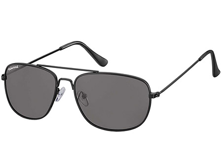 Corsica (Black) Aviator Sunglasses - Thumbnail Product Image