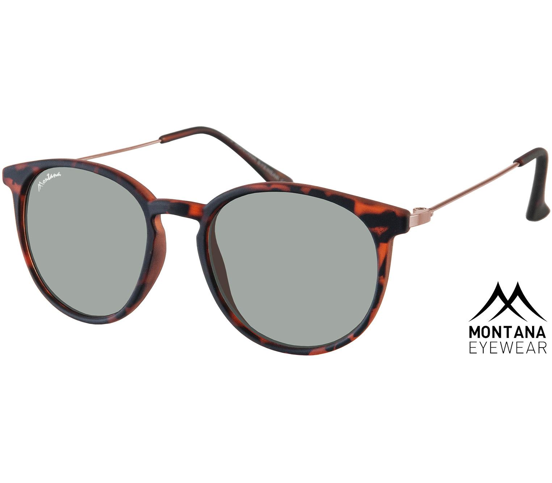 Main Image (Angle) - Andalucia (Tortoiseshell) Retro Sunglasses