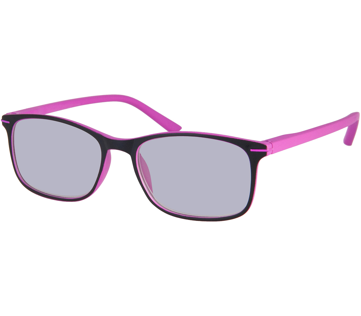 Main Image (Angle) - Mirage (Pink) Classic Sun Readers