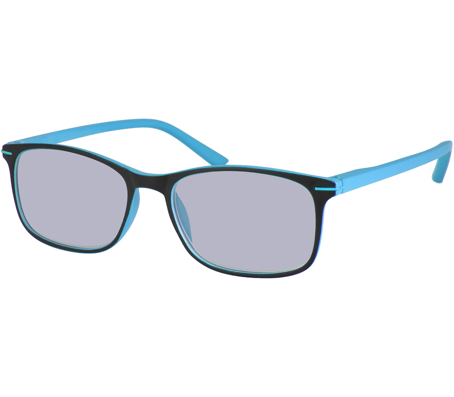 Main Image (Angle) - Mirage (Blue) Classic Sun Readers