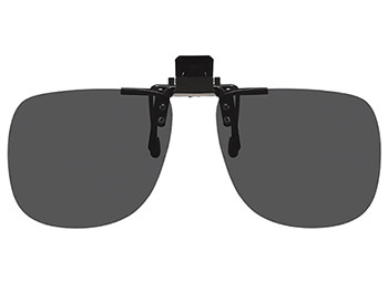 Shady (Black) Clip On Sunglasses