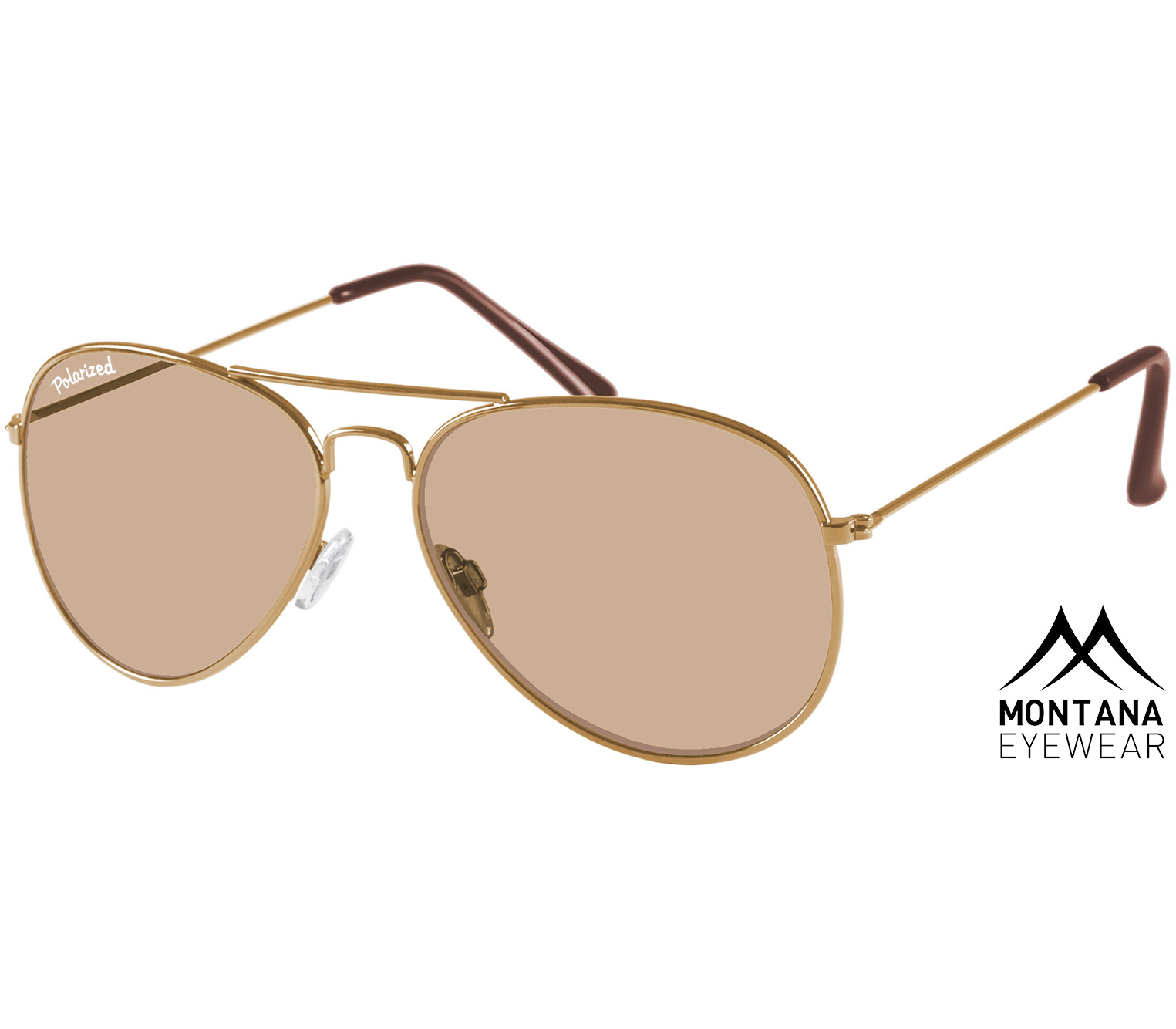 Uber (Gold) Aviator Sunglasses