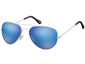 Island (White) Aviator Sunglasses - Thumbnail Product Image