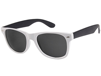 Beach (White) Wayfarer Sunglasses - Thumbnail Product Image