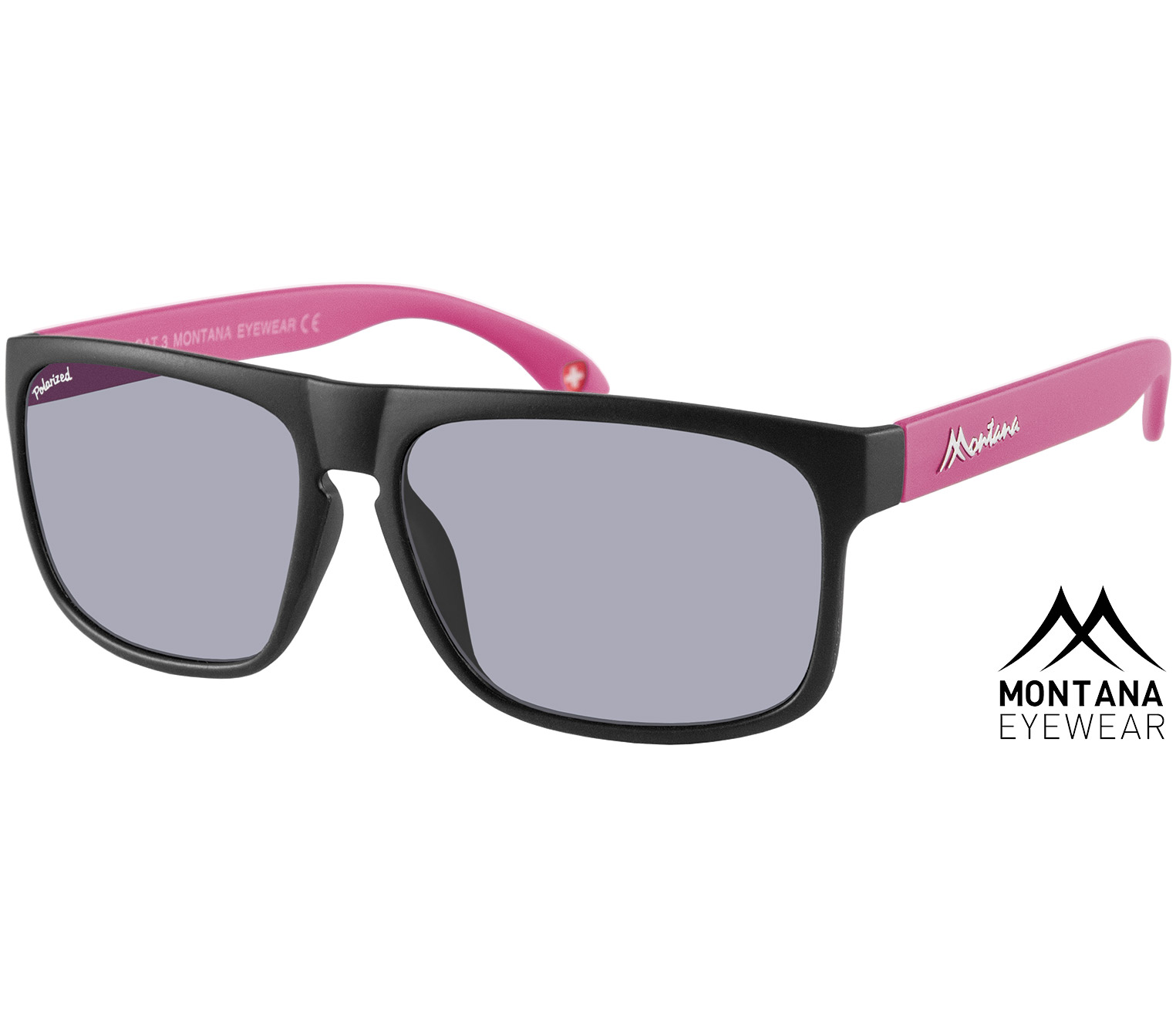 Main Image (Angle) - Radar (Pink) Retro Sunglasses
