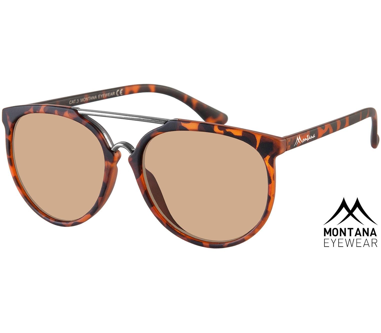 Main Image (Angle) - Java (Tortoiseshell) Retro Sunglasses